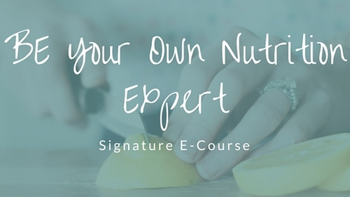 Nutrition Expert Course | Andrea Hardy Calgary Registered Dietitian Nutritionist