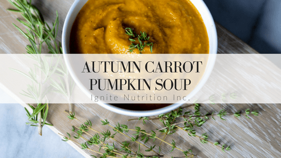 Autumn Carrot Pumpkin Soup