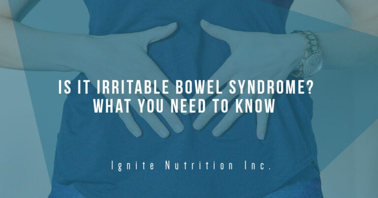 Is it Irritable Bowel Syndrome? What you need to know about IBS and IBS Awareness Month - Andrea Hardy is a Registered Dietitian Nutritionist from Calgary Alberta and is a specialist in gut health.