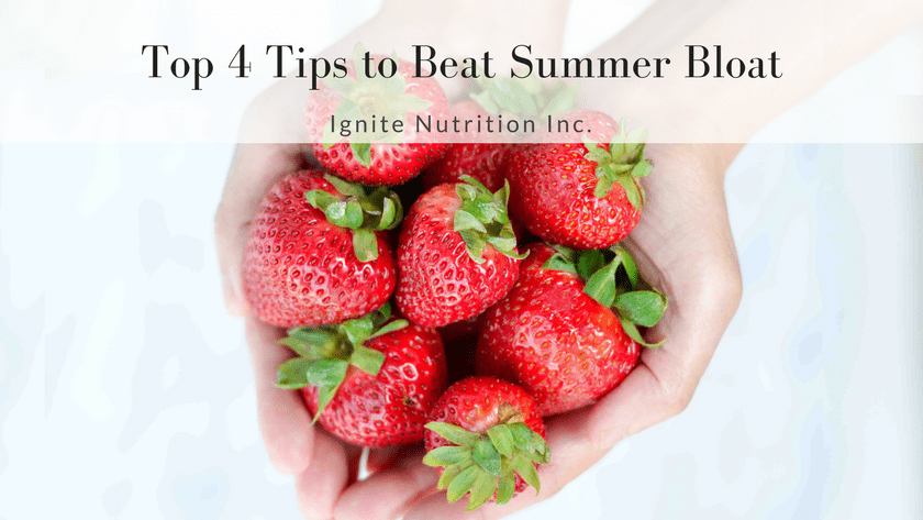 Top 4 Tips To Beat Summer Bloat