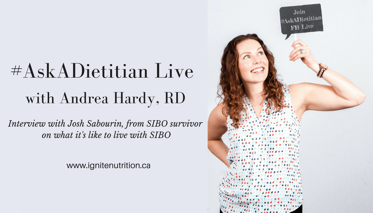 Ask A Dietitian Live With Andrea Hardy, RD