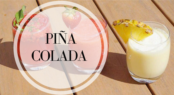 Pina Colada Mocktail Recipe | Mocktail Madness: Delicious Summer Mocktail Recipes | Ignite Nutrition Registered Dietitian Nutritionist Calgary Alberta