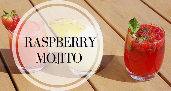 low FODMAP Raspberry Mojito Mocktail Recipe for IBS! | Mocktail Madness: Delicious Summer Mocktail Recipes | Ignite Nutrition Registered Dietitian Nutritionist Calgary Alberta