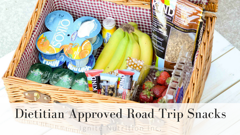 Dietitian Approved Road Trip Snacks