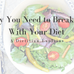 Why you need to break up with your diet - a dietitian explains what is wrong with weight being the 'ultimate' indicator of health - and WHY it's so hard on us to diet continually | Andrea Hardy, RD from Calgary Alberta