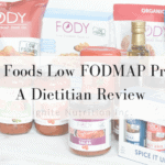FODY Foods low FODMAP product review - these low FODMAP products are SO convenient and have AMAZING substitutes for items you miss, like ketchup, barbecue sauce, and soup mixes! | Review is by Andrea Hardy, registered dietitian and gut health expert from Calgary, Alberta