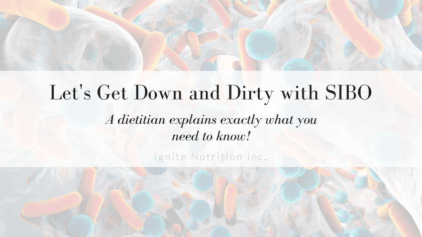 Let's get down and dirty with SIBO | Exactly what you need to know. Featured Image
