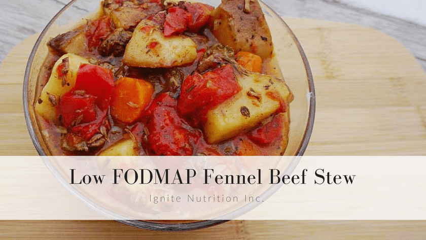 Low FODMAP Fennel Beef Stew