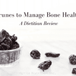 Wanting to look beyond calcium to prevent and even reverse bone loss? Eating 5-6 prunes daily can do just that! Find out more from Ignite Nutrition