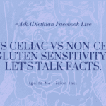 Registered dietitian and gut health expert, Andrea Hardy, from Ignite Nutrition explains the IMPORTANT differences between IBS vs celiac vs non-celiac gluten sensitivity. Symptoms overlap - so knowing the difference, and what to do about it is KEY!