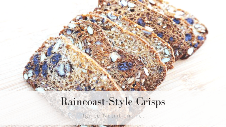 Raincoast Style Crisps - this super simple recipe is such a money-saver! | Ignite Nutrition Inc.