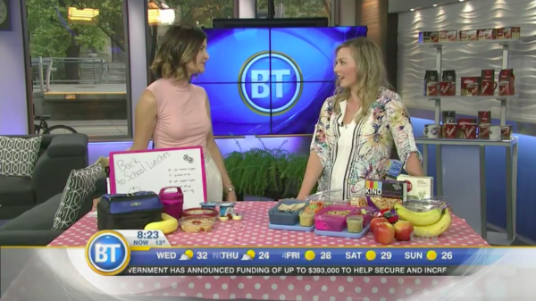 Andrea Hardy, Calgary's top 10 dietitians talks packing healthy school lunches on Breakfast Television Calgary!