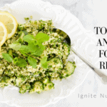 Top 10 low FODMAP recipes that are dietitian approved. IBS and the elimination phase of the low FODMAP diet can be hard, these recipes are a great way to start and connect you with some great IBS experts! | Ignite Nutrition dietitians are experts Irritable bowel syndrome management in Calgary Alberta