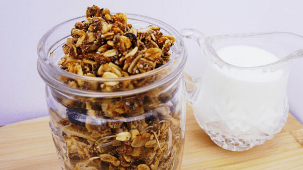 Homemade Gut Friendly Granola Featured Image