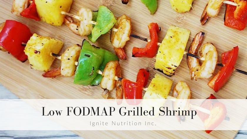 Low FODMAP Grilled Shrimp Featured Image