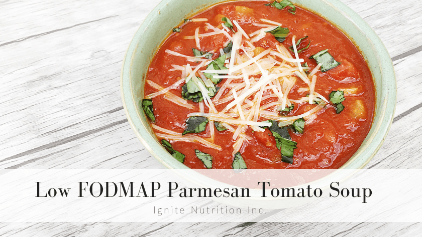 low fodmap tomato parmesan soup 2