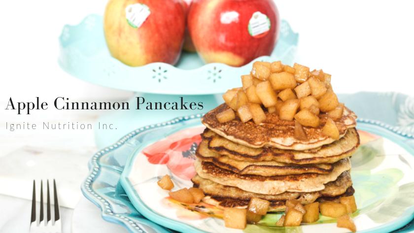 Apple Cinnamon Pancakes Featured Image