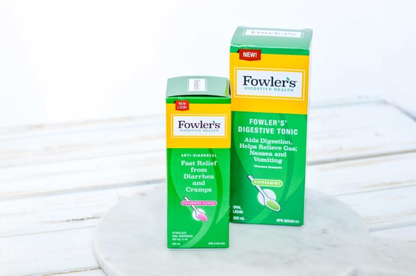 Fowler's digestive tonic and diarrhea relief for IBS management