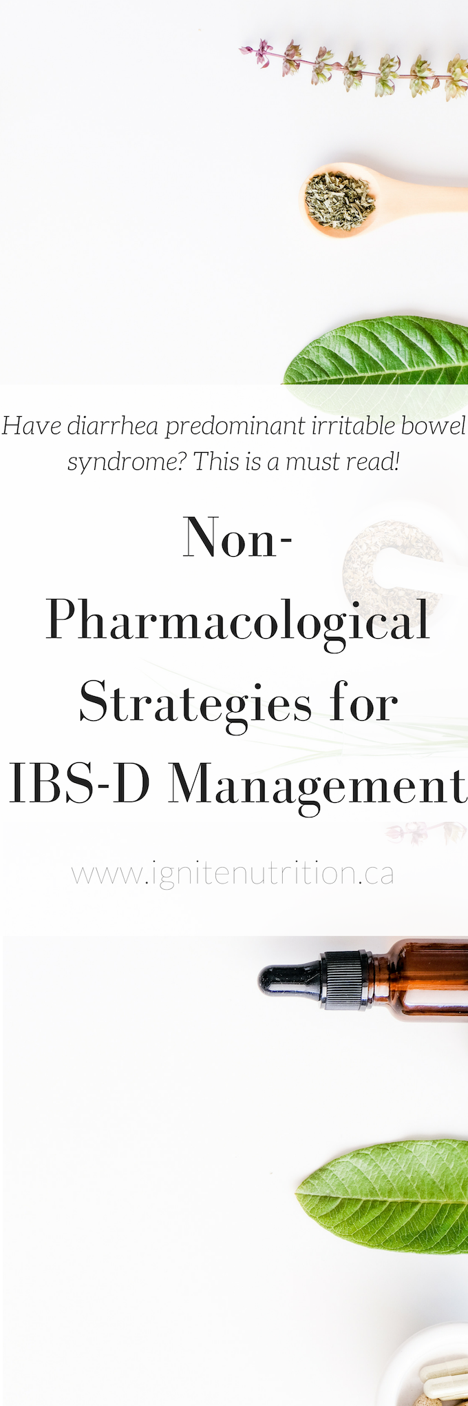 Food first, medication second is what we say at Ignite Nutrition about IBS management. However, there are times where medication is essential. We like to start with non-pharmacological options first, as their safety profile is better. From there, we determine what pharmacological agents may provide better quality of life. Working with a dietitian at Ignite nutrition Calgary specialized in IBS diets is something I recommend to all patients with irritable bowel syndrome! This post is sponsored by Fowler's digestive.