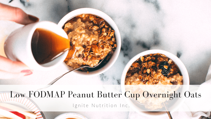 peanut butter overnight oats 1