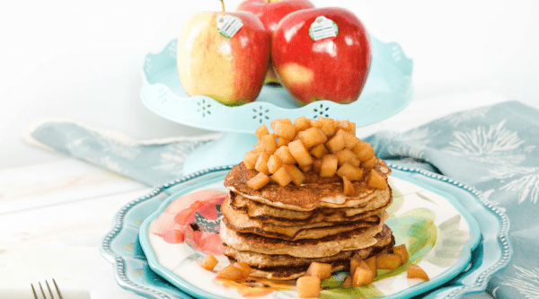 Apple Cinnamon Pancakes Featured Image