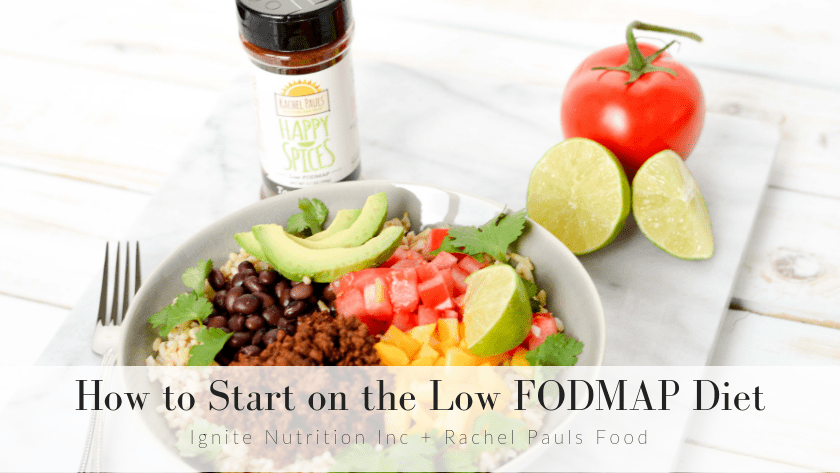 How to start on the low FODMAP diet