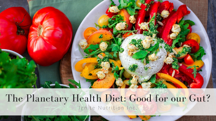 The Planetary Health Diet: Good for our Gut? Featured Image
