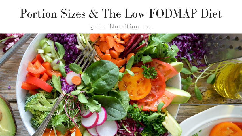 Portion Sizes & the Low FODMAP Diet Featured Image