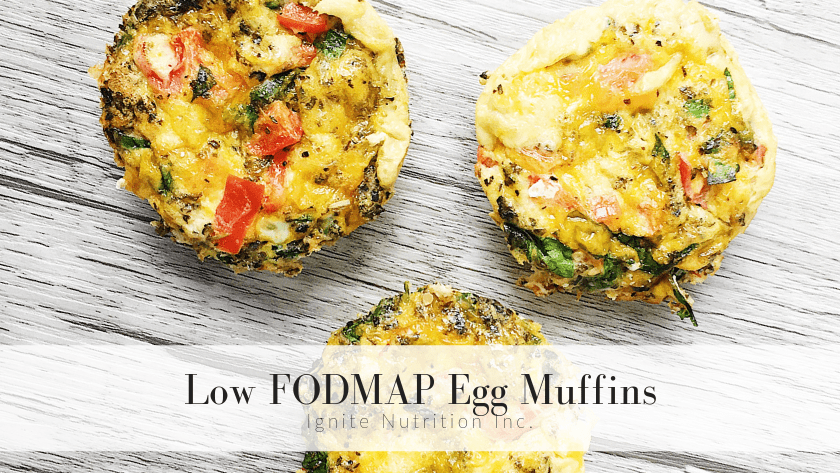 Low FODMAP Egg Muffins Featured Image