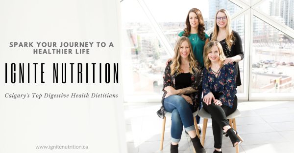 Ignite Nutrition is Calgary's top digestive health practice with registered dietitians and a psychologist on our team!