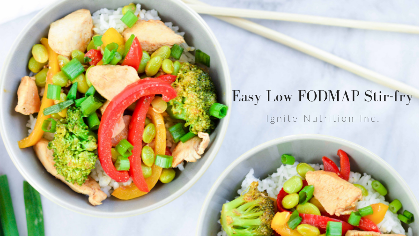 Easy Low FODMAP Stir-fry Featured Image