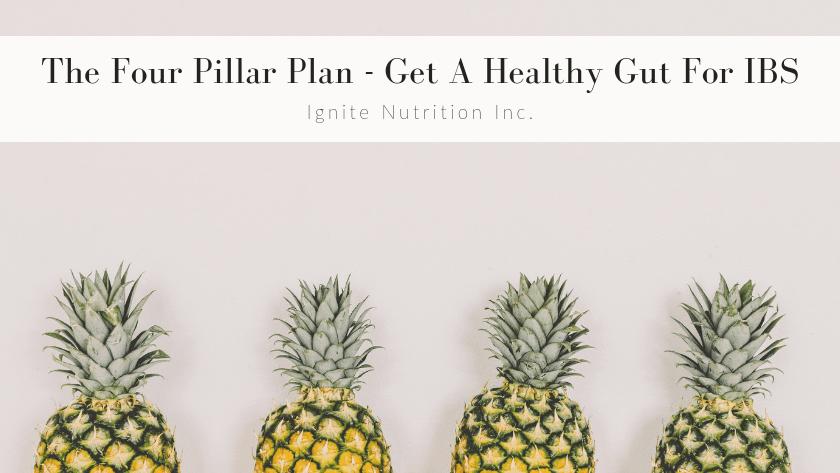 The 4 Pillar Plan – Get A Healthy Gut for IBS