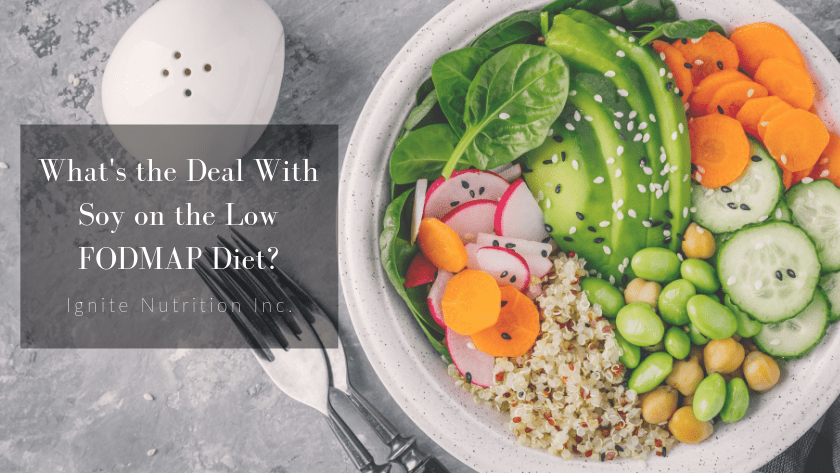 What's the Deal With Soy on the Low FODMAP Diet? Featured Image