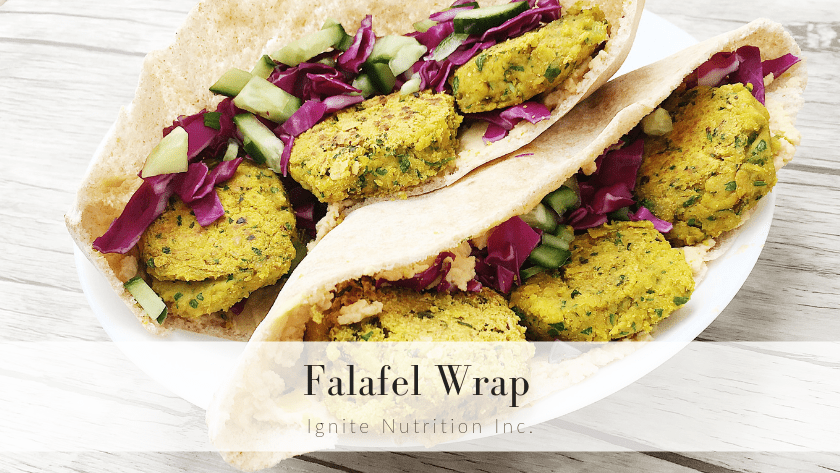 Falafel Wrap Featured Image