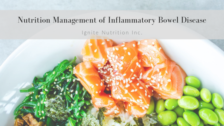 If you're wondering what the difference is between IBS and IBD, or if you have IBD and are trying to find out if there is a nutrition solution the registered dietitians at Ignite Nutrition in Calgary, Alberta can help you.