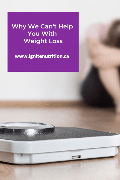 Looking for help to make healthier choices? The registered dietitians at Ignite Nutrition in Calgary, Alberta can offer support on your journey to a healthier you!