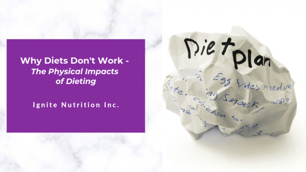 Ready to ditch your diet and get healthy with the help of a registered dietitian at Ignite Nutrition in Calgary, Alberta? We can help!