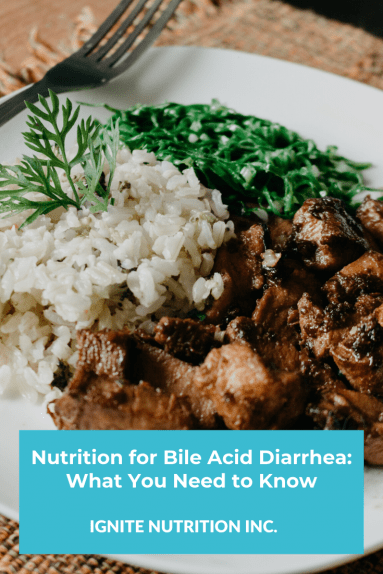 Here's what you need to know about nutrition for Bile Acid Diarrhea, to learn more work with one of Calgary's top registered dietitians at Ignite Nutrition who specialize in digestive health today.