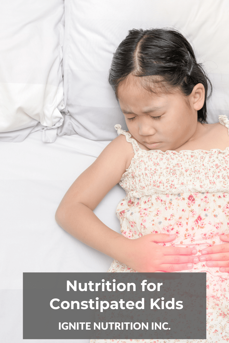 Nutrition For Constipated Kids