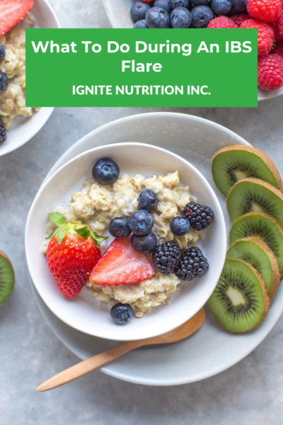 Need help managing an IBS flare up? The registered dietitians at Ignite Nutrition in Calgary, Alberta can help!