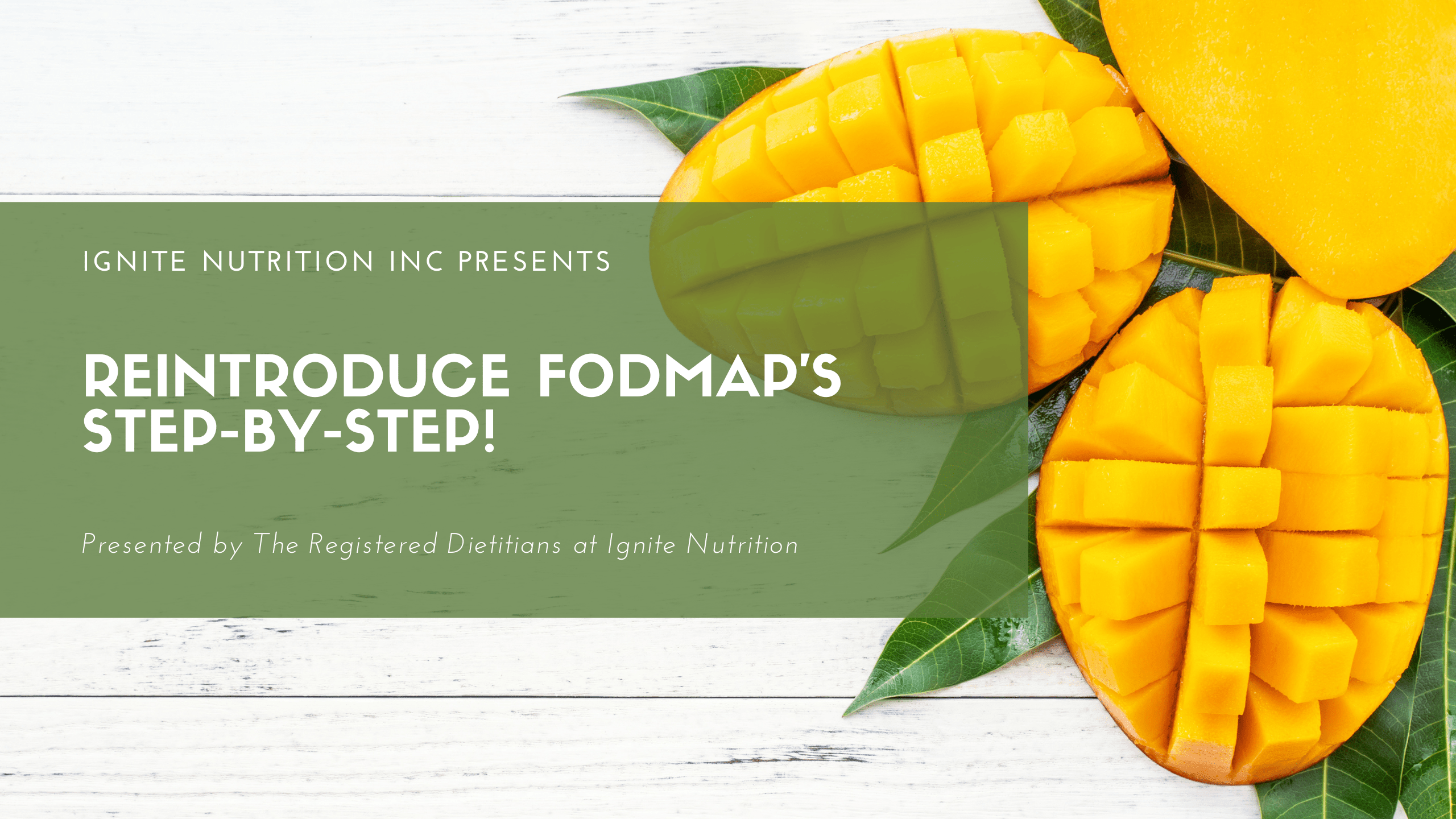 Reintroduce FODMAP's step by step - a dietitian led course on how to introduce FODMAPs confidently and with ease!